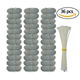 Best Ties For Washing Machines - haotech 36 Pack Washing Machine Lint Traps Review