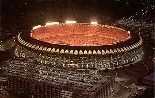 Busch Stadium From Gateway Arch St. Louis, Missouri Original Vintage Postcard