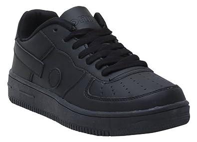 Original Marines Damen Sneaker Schwarz Schwarz 36: