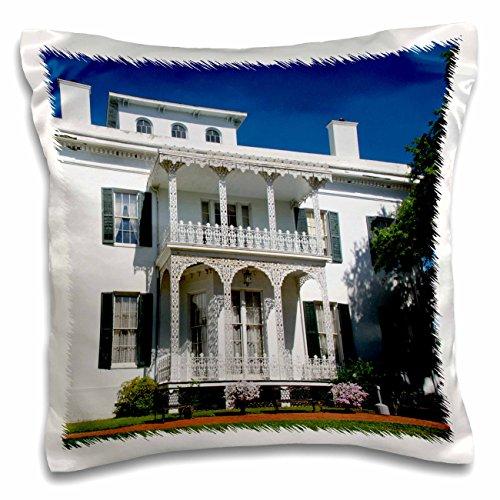 Danita Delimont - Houses - USA Mississippi, Natchez, Stanton Hall house - US25 CMI0006 - Cindy Miller Hopkins - 16x16 inch Pillow Case (pc_144741_1) (Classic Case Stanton)