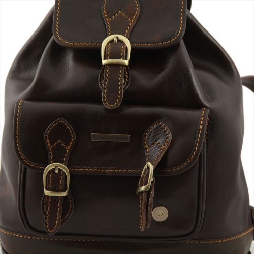 Tuscany Leather , Damen Schultertasche Braun braun