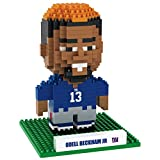 NFL New York Giants Beckham O. #13 Mini BRXLZ Player Building Blocks, One Size, Blue