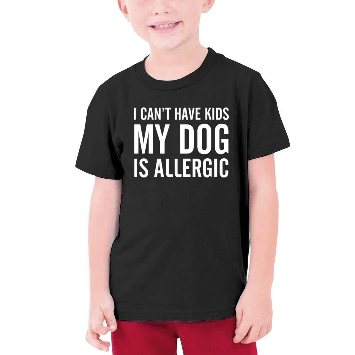 Negi I Cant Have Kids My Dog is Allergic Boys Short-Sleeved T-Shirt