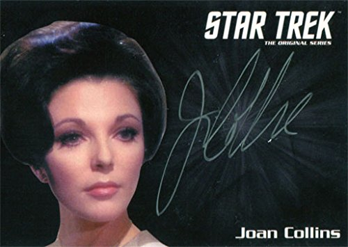 Star Trek TOS 50th Anniversary Autograph Silver Joan Collins as Edith Keeler