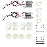 Hooray! Service Motor & Motor Base & Gear Spare Parts for MJX X101 x101 RC Quadcopter