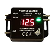 V-Guard II - Programmierbarer Batteriewächter 12V & 24V mit Display