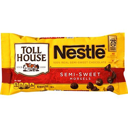 - Nestle Tollhouse Nestle Tollhouse Semi Sweet Morsels, 6 Ounce Bags
