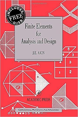 Finite Elements for Analysis and Design: Computational Mathematics