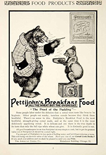1900-ad-vintage-pettijohns-breakfast-food-wheat-cereal-bear-cub-trademark-ysn2-original-print-ad