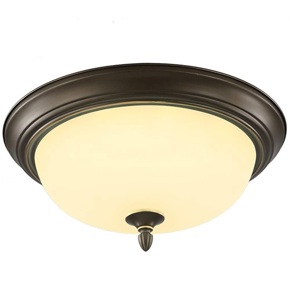 ラウンドシーリングライトガラスランプクリスタルシーリングランプシャンデリア現代クロームペンダントライト用寝室/ダイニングルーム現代クリスタル照明   B07SZLBPW2