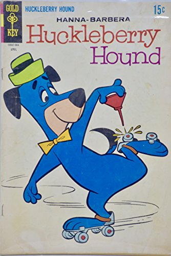 (1969 - Gold Key - Huckleberry Hound #37 - Vintage Comic Book)