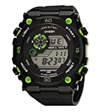 Cool New Hot Kids Fashionable Multifunctional Outdoor Digital Sport Watch Compass Alarm El Light Japanese Battery