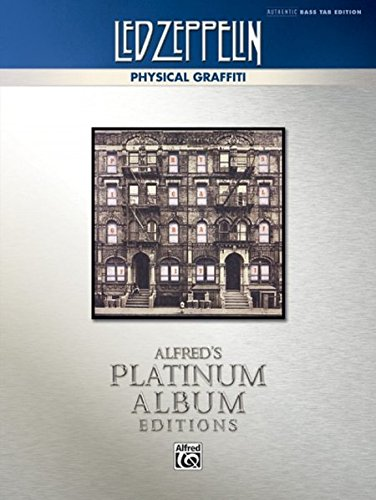 ical Graffiti Platinum Bass Guitar: Authentic Bass TAB (Alfred's Platinum Album Editions) ()