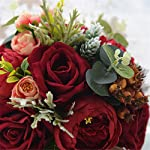 KUPARK-Handmade-Romantic-Peony-Hydrangea-Artificial-Flowers-Blossom-Decor-Bridal-Bridesmaid-Bouquet-Home-Wedding-Decoration-Gift-for-Birthday-Valentines-Day