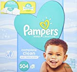 #5: Pampers Baby Wipes Complete Clean Scented 7X Refill, 504 Count