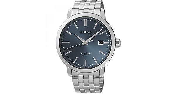 Seiko Reloj Analógico Automático para Hombre con Correa de Acero Inoxidable - SRPA25K1: Amazon.es: Relojes