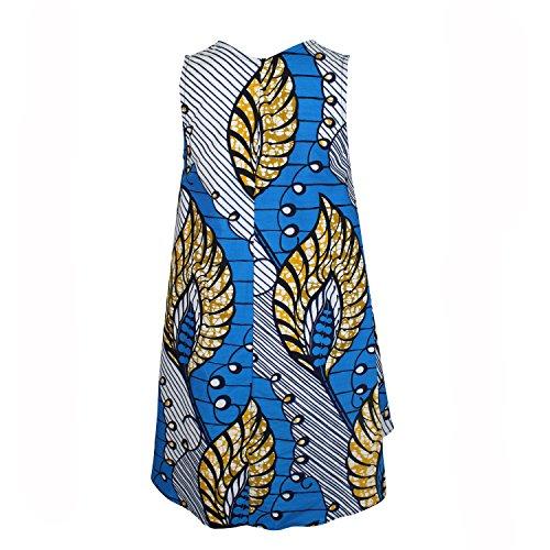 Della Womens Ami Robe De Tente Bleue / Plusieurs Petites, Moyennes