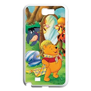 Samsung Galaxy N2 7100 Cell Phone Case Covers White Many Adventures of Winnie the Pooh WS0250148