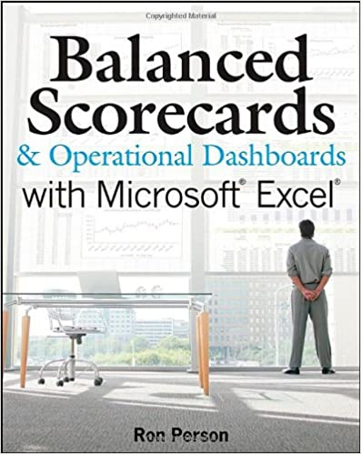 Balanced Scorecards And Operational Dashboards With Microsoft Excel Pdf