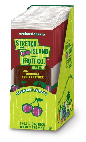 Stretch Island Orchard Cherry Fruit Leather, 0.5 Ounce -- 30 per case (Cherry Dry Fruit)