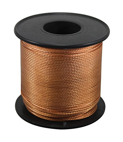(iLightingSupply 56-0835-06 18 Gauge Braided Bare Copper Wire 250Ft Spool, 250',)