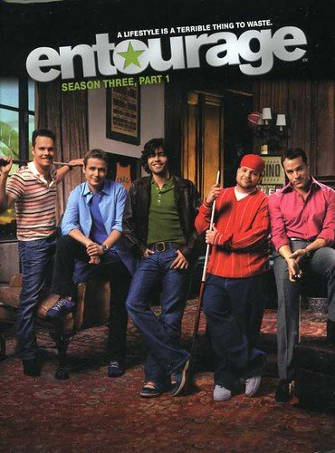 DVD : Entourage: Season Three Part 1 (Widescreen, Dubbed, Digipack Packaging, Dolby, AC-3)