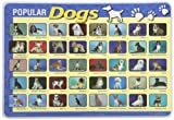 Painless Learning Popular Dogs Placemat