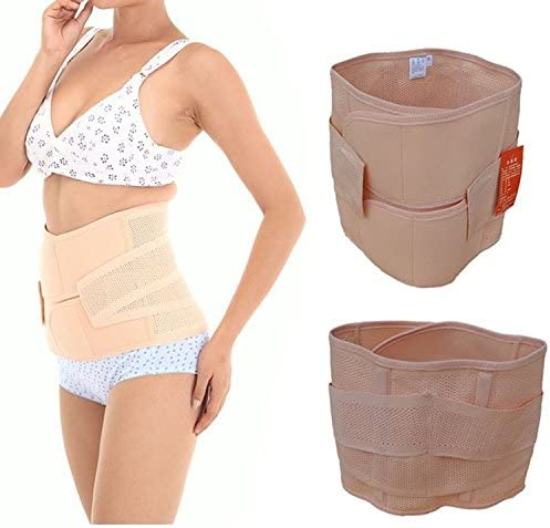 Healthcom Waist Slimming Belt Shaper Wrapper Band Abdomen Abdominal Binder Women Postnatal Pregnancy Belt-Support Postpartum Recoery Support Girdle Belt Belly,Size:S 6