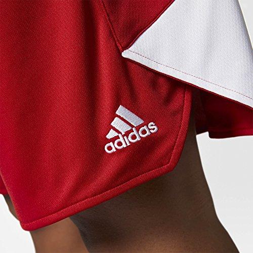 adidas W Crzy Expl Sho Pantalón, Mujer rojo (rojpot / blanco)