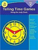 Telling Time Games, Grade K, Christine Hood, 0768227208