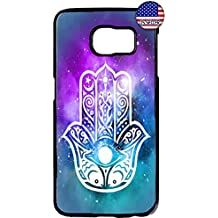 THE FORTRESS Premium cases -Hamsa Hand Evil Eye Guard Cute Case2 Hard Plastic Black Case for SSamsung Galaxy Note 8 The perfect blend of minimalism and shock absorbtion