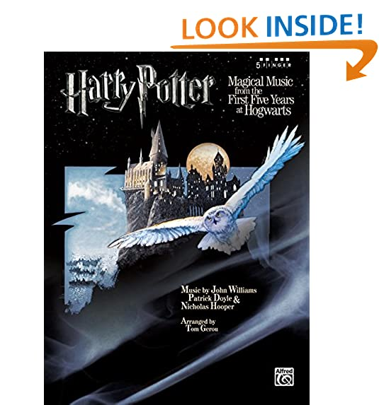 Harry Potter Magical Music From The First Five Years At Hogwarts Finger Piano 5