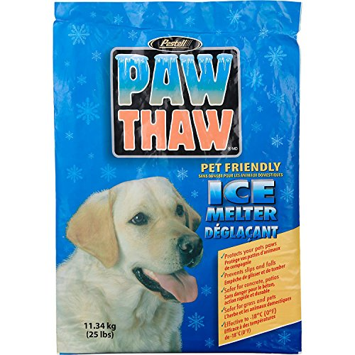 Sale!! PESTELL 683051 Paw Thaw Ice Melt for Pets, 25-Pound Bag