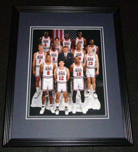 1992 USA Basketball Dream Team Framed 8x10 Photo Poster Jordan Bird Magic