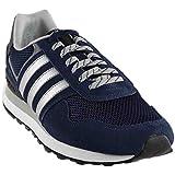 adidas Men's Shoes   10K Fashion Sneakers, Collegiate Navy/Matte Silver/Light Onix, (11 M US)