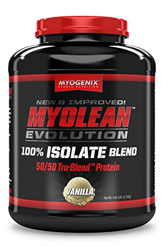 Myogenix Myolean Evolution Isolate Powder, Vanilla Cream, 4.62 Pound Review