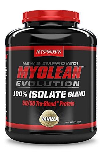 Myogenix Myolean Evolution Isolate Powder, Vanilla Cream, 4.62 Pound