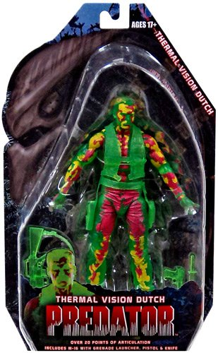 NECA Predators Series 11 - Thermal Dutch - Scale Action Figu