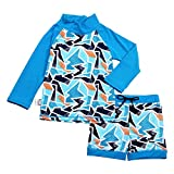 Jan & Jul UPF 50+ Long Sleeve Swim Shirts OR Sets for Baby, Toddler, Kids   Girls or Boys