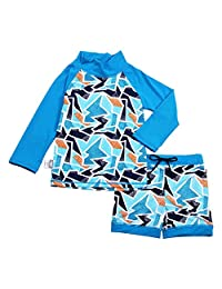 Jan & Jul UPF 50+ Long Sleeve Swim Shirts OR Sets for Baby, Toddler, Kids | Girls or Boys