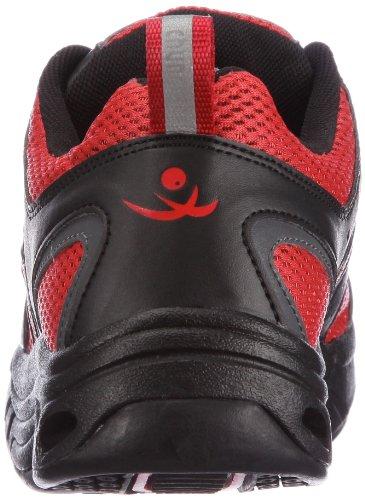 Chung Zapatillas Tela Tokyo Step Deporte De 9102325 Shi Mujer Rojo Para Comfort r6qBT1Cr