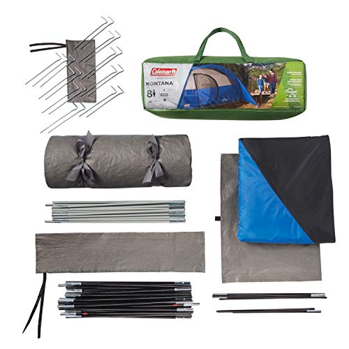 Coleman Tent for Camping | Montana Tent with Easy Setup for Outdoors
