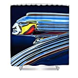 Pixels Artistic Shower Curtain featuring