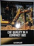 Caterpillar 301.5, 301.6, 301.8, 302.5, 303.5 and 304.5 Mini Hydraulic Excavators Sales Brochure Original