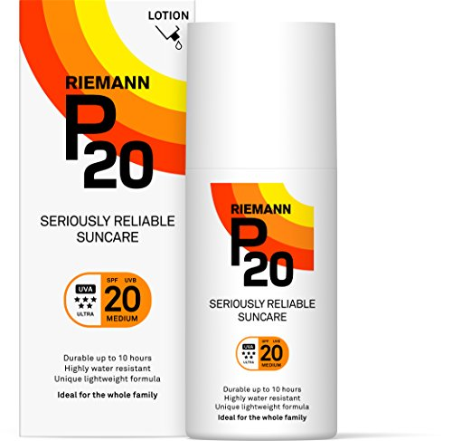 Riemann P20 Once a Day 10 Hours Protection SPF 20 Medium 200ml (Best Once A Day Sunscreen)