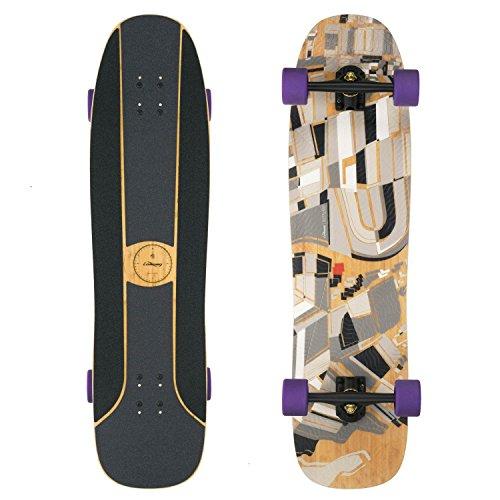 Loaded Boards Overland Bamboo Longboard Skateboard Complete (83a Kilmers)