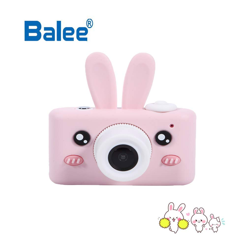Balee Kids Digital Camera Mini 2 Inch Screen Children's Cameras 8MP HD Video Cameras Camcorder for Girls and Boys Included 16G TF Card and Silicone Soft Cover by Balee (Image #3)