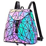 Geometric-Luminous-Purses-and-Handbags-for-Women-Holographic-Reflective-Bag-Backpack-Wallet-Clutch-Set