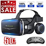 Pansonite Vr Headset with Remote Controller, 3D Glasses...