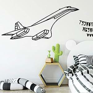 Aeroplano creativo Pegatinas de Pared Personalizado Creativo ...